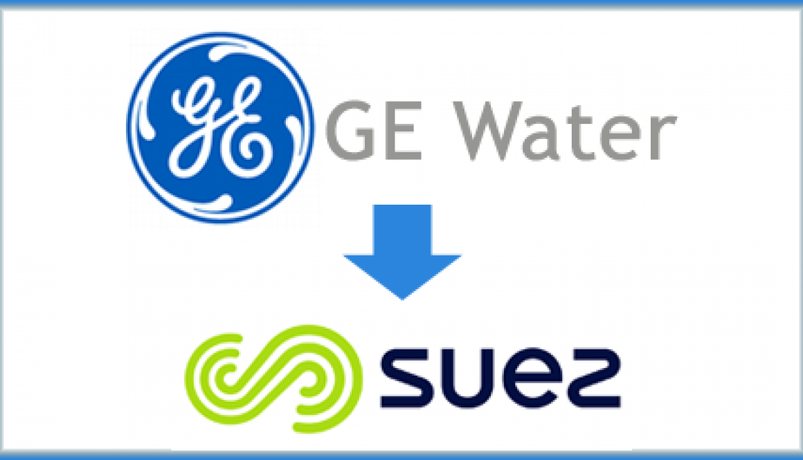 GE Water kupljen od strane SUEZ firme